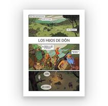 Los Hijos  de Dôn. Un proyecto de Comic de Alejandro Estebaranz Nieto - 31-01-2018