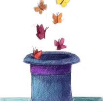 Mi Proyecto del curso: Ilustración digital con lápices de colores. A Illustration project by Marina Llera         - 01.02.2018