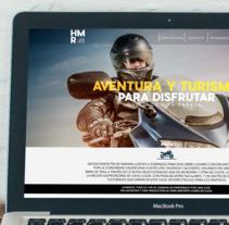 WEB HAPPY MOTO RUTA VLC SPAIN 2018. Un proyecto de Diseño Web de Edwar Barboza         - 07.02.2018