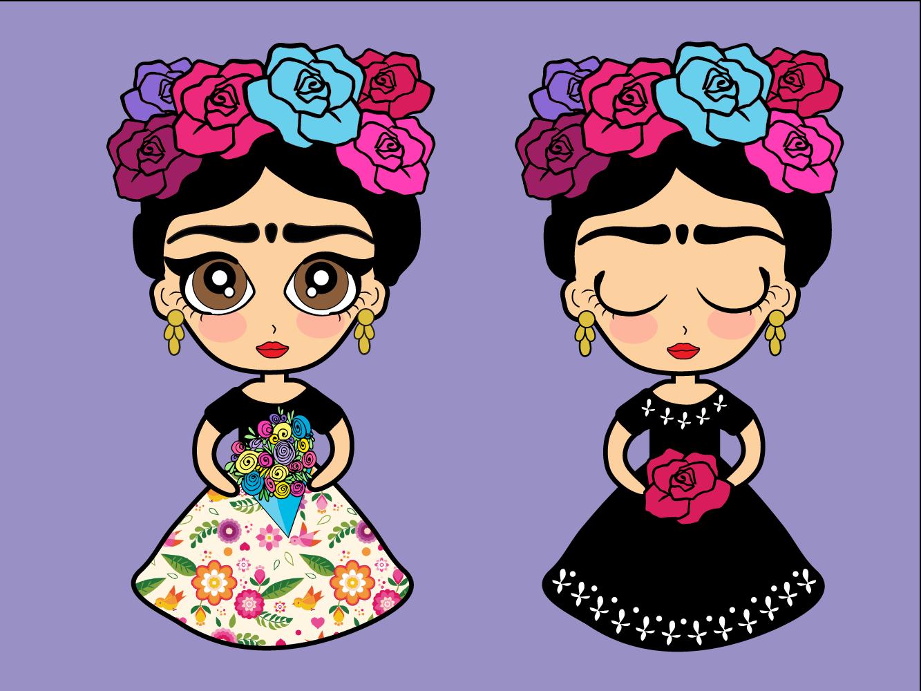 Frida Kahlo Para Dibujar: Frida Kahlo