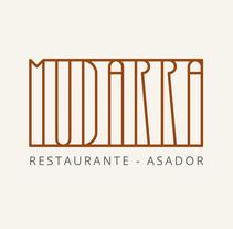 Restaurante-Asador MUDARRA. Um projeto de Design, Br, ing e Identidade, Culinária e Design gráfico de david_miguelez         - 13.02.2018