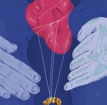 Todo corazón. Um projeto de Ilustração, Design editorial e Artes plásticas de Fran Pulido         - 13.02.2018