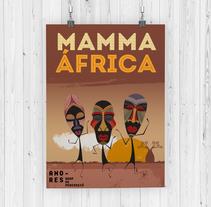 Mamma África. A Graphic Design project by Pilar Rodríguez         - 16.02.2018