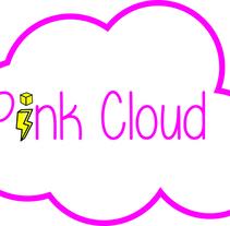 Logo PinkCloud. Um projeto de Design gráfico de Laura Buenasmañanas Linares         - 20.02.2018