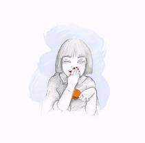 ORANGE CHILL. Un proyecto de Ilustración de Cristina Bustamante         - 21.02.2018