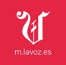 Versión móvil La Voz. A Web Design project by Víctor Couce Veiga         - 07.03.2015