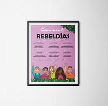 Germinando REBELDÍAS. A Illustration, and Graphic Design project by Blanca Arranz         - 03.03.2018