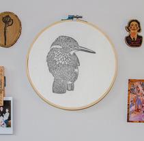 Sello de pájaro estampado. Un proyecto de Bellas Artes de Leyre Núñez         - 09.03.2018