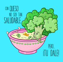 Brócolo... Tu Dale!. A Vector illustration project by Diana Maria Cuevas         - 11.03.2018