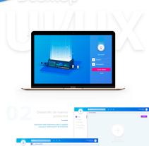App Up brief. Um projeto de UI / UX de Derck Michel         - 14.03.2018
