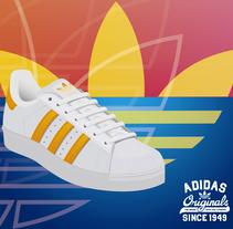 Adidas Originals Poster. . Un proyecto de Diseño gráfico de Gerardo Molina         - 14.03.2018