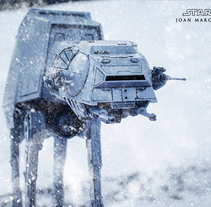 The Star Wars AT-AT 2018 . A Digital retouching project by Joan Marc Ferret         - 15.03.2018