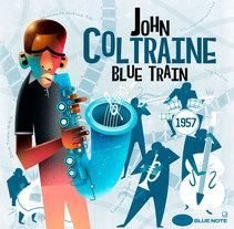 Blue Train. Um projeto de Ilustração de Javier Sánchez         - 20.03.2018