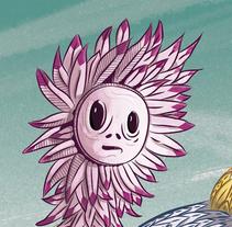 Niño Pollo.. Um projeto de Ilustração, Design de personagens e História em quadrinhos de Jujo Fosfenos         - 21.03.2018