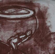 Reloj de arena. A Fine Art project by Ester Abella González         - 28.03.2007