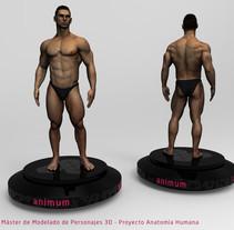 Human Anatomy Study. Un proyecto de 3D de Aitor Regidor Vallcanera         - 11.04.2018