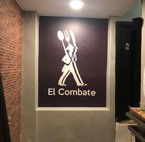 "Imagen corporativa ""El Combate"". A Design project by Sergio Rodríguez Rodríguez         - 12.04.2018"