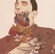 """""""THIS LOVE I FEEL"""". A Illustration, Graphic Design, and Vector illustration project by Daniel Caballero         - 21.03.2014"""