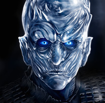 Night King (Game of Thrones) + SpeedPaint . A Illustration project by AdrianArt         - 18.04.2018